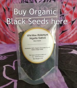organic powdered black seeds