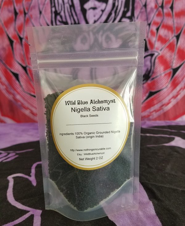 Organic Black Seeds Whole